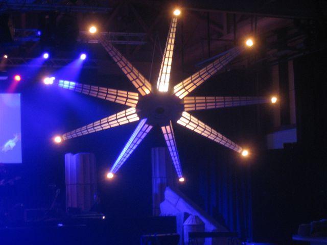 Achmea party in  Jaarbeurs Utrecht, productie VIP-events