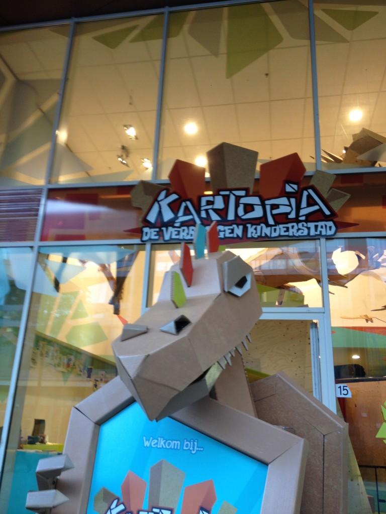 Kartel de draak van Kartopia